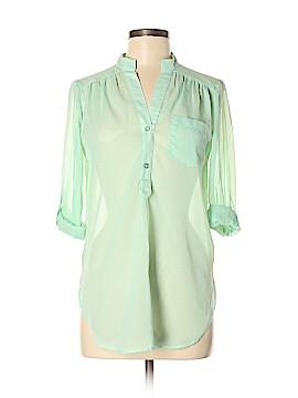 B.wear Long Sleeve Blouse Size M