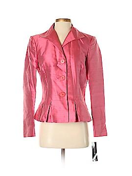Lafayette 148 New York Silk Blazer Size 6