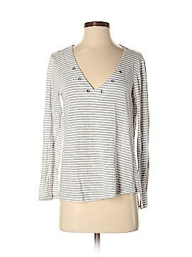 Velvet Long Sleeve T-Shirt Size S