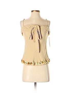 Anne Klein Sleeveless Silk Top Size 2 (Petite)