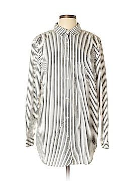 H&M L.O.G.G. Long Sleeve Button-Down Shirt Size 10