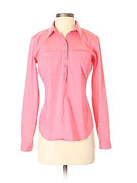 7th Avenue Design Studio New York & Company Long Sleeve Button-Down Shirt Size XS