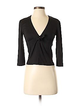 Prada 3/4 Sleeve Silk Top Size S