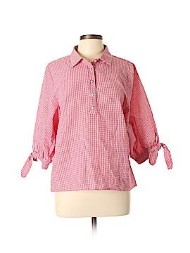 Solitaire 3/4 Sleeve Blouse Size L