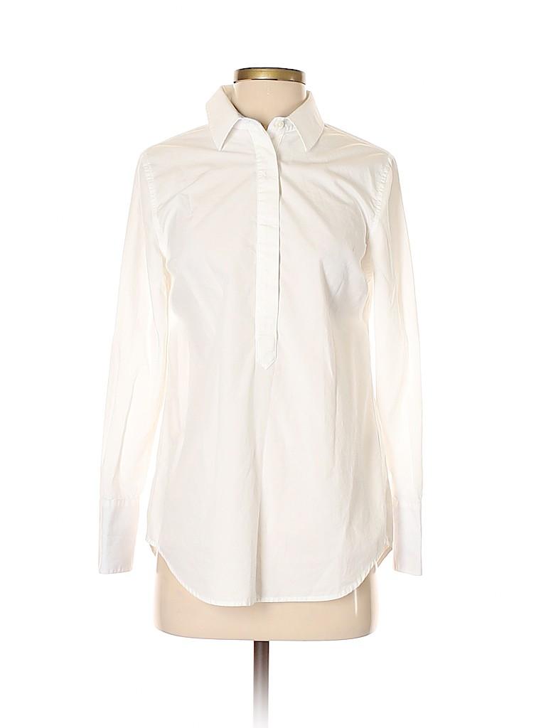 Vineyard Vines Women Long Sleeve Button-Down Shirt Size 0