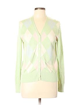 Brooks Brothers Silk Cardigan Size L