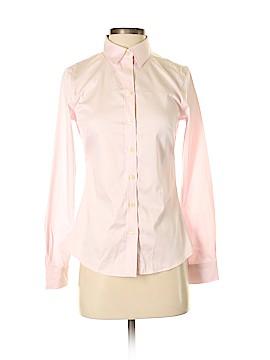 Banana Republic Factory Store Long Sleeve Button-Down Shirt Size 0