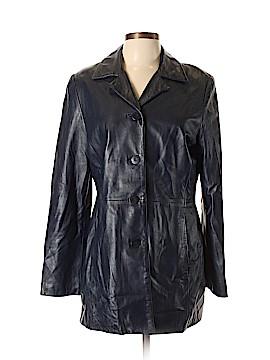 DANIER Leather Jacket Size 10