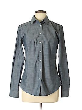 Banana Republic Factory Store Long Sleeve Button-Down Shirt Size 6