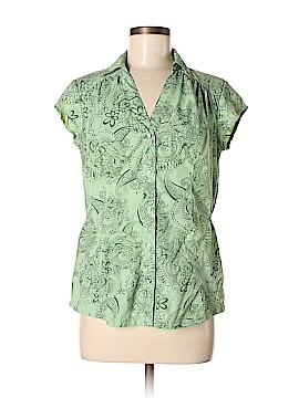 Merrell Short Sleeve Button-Down Shirt Size M