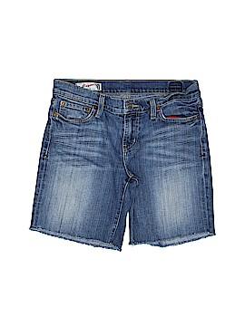 Red Engine Denim Shorts 26 Waist