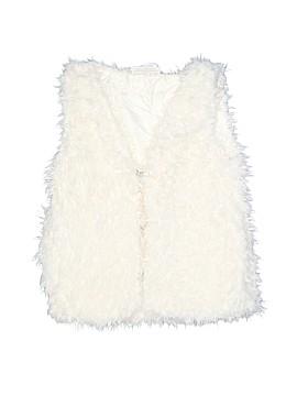 Bobbie Brooks Faux Fur Vest Size 7 - 8