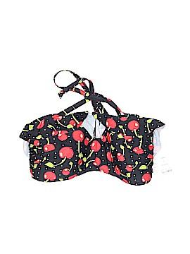 Unique Vintage Swimsuit Top Size L