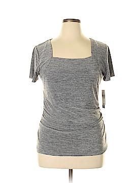 AB Studio Short Sleeve Top Size XL