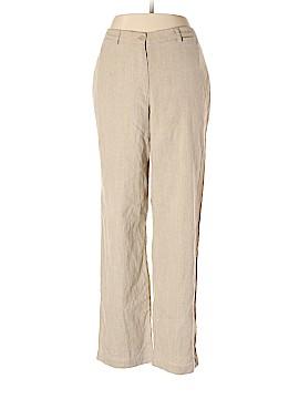 Liz Claiborne Linen Pants Size 16 (Petite)