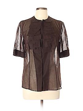 AKRIS Short Sleeve Blouse Size 12