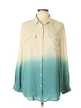 Ellison Long Sleeve Button-Down Shirt Size L