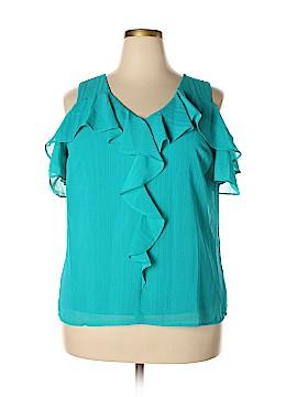 Alyx Short Sleeve Blouse Size XL