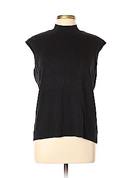 Coldwater Creek Short Sleeve Silk Top Size XL