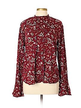 Love on a Hanger Long Sleeve Button-Down Shirt Size XL