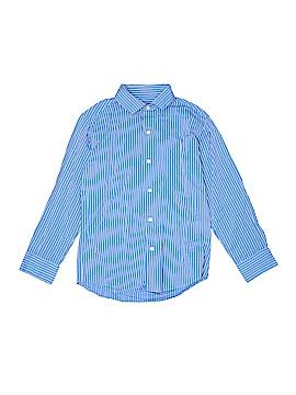 Chaps Long Sleeve Button-Down Shirt Size 8