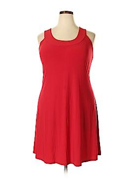 Ellen Parker Casual Dress Size 2X (Plus)