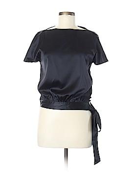 Tori Richard Short Sleeve Silk Top Size 6