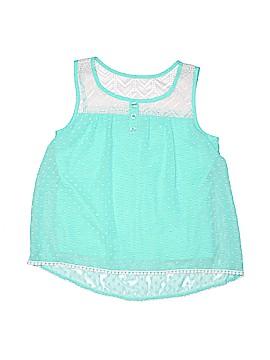 Pinky Sleeveless Blouse Size 14