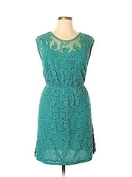 Pinky Casual Dress Size 1X (Plus)