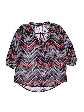Xhilaration 3/4 Sleeve Blouse Size S