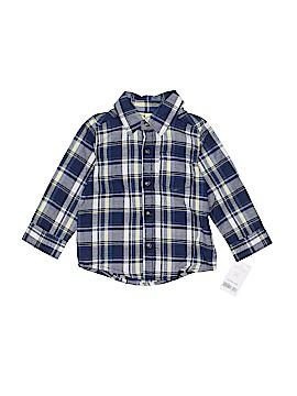 Carter's Long Sleeve Button-Down Shirt Size 12 mo