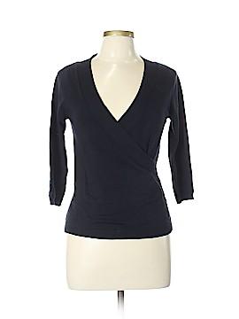 Max Mara Long Sleeve Silk Top Size Lg (3)