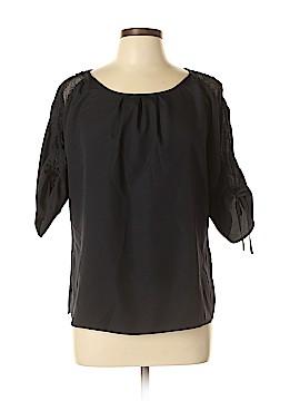 Ann Taylor Factory 3/4 Sleeve Blouse Size L (Petite)