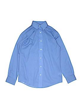 Class Club Long Sleeve Button-Down Shirt Size 12