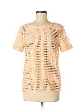 Johnston & Murphy Short Sleeve Blouse Size M