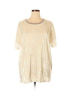 Dantelle Short Sleeve Blouse Size 2X (Plus)