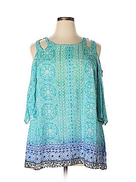 Rose & Olive 3/4 Sleeve Blouse Size 1X (Plus)