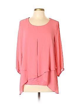 I.N. Studio 3/4 Sleeve Blouse Size L