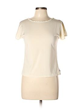 AKRIS Short Sleeve Silk Top Size 12