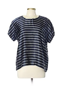 Escada by Margaretha Ley Short Sleeve Silk Top Size 12