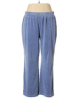 Jones New York Velour Pants Size 1X (Plus)