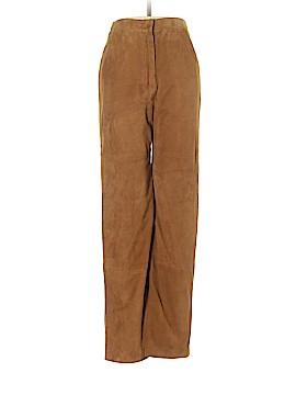 Max Mara Faux Leather Pants Size 2