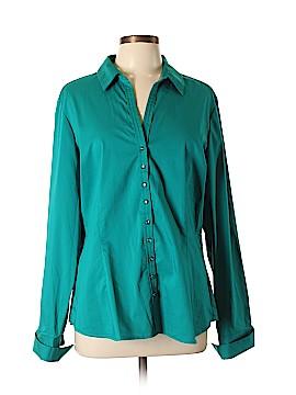 7th Avenue Design Studio New York & Company Long Sleeve Button-Down Shirt Size XL