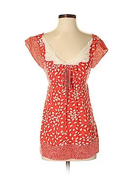 Yoana Baraschi Short Sleeve Silk Top Size 2