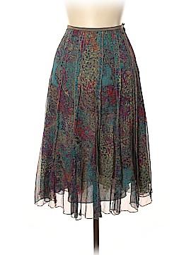 Nic + Zoe Silk Skirt Size 4