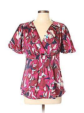 Fashion Bug Short Sleeve Blouse Size M