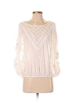 New Romantics Short Sleeve Blouse Size S (Petite)