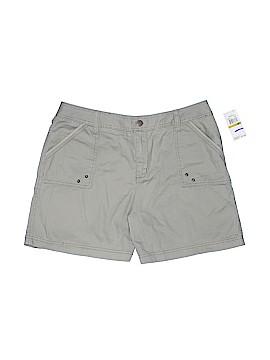 Caribbean Joe Khaki Shorts Size 14 (Petite)