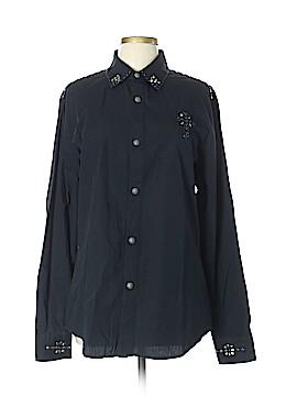 Smash Long Sleeve Button-Down Shirt Size L