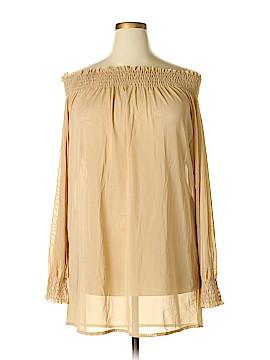 Newport News Long Sleeve Top Size 2X (Plus)